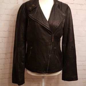 MICHAEL Michael Kors black 100% genuine leather